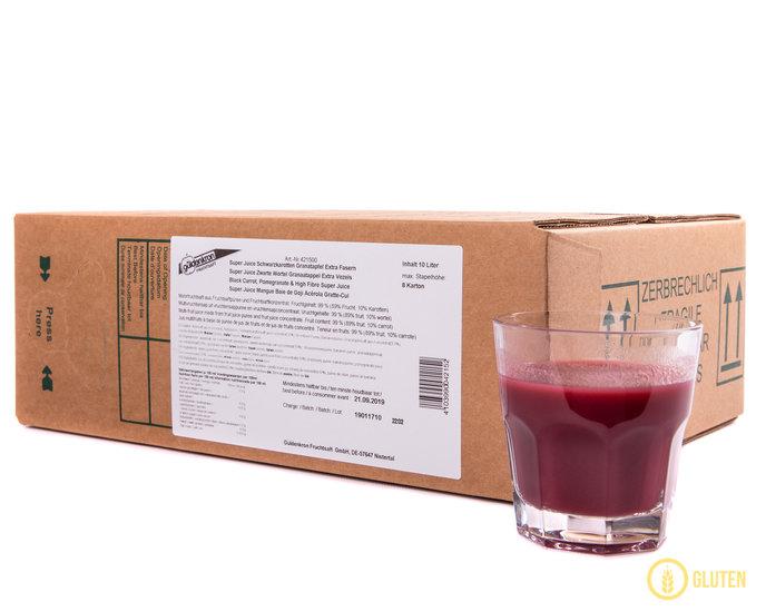 Super Juice Zwarte Wortel, Granaatappel & Extra Vezels