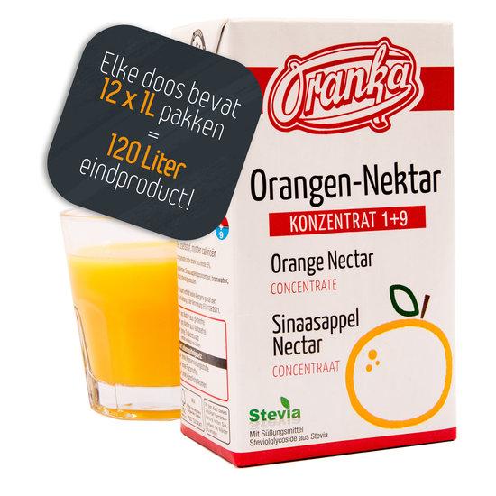 Sinaasappelnektar 1+9